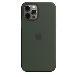 Apple - Custodia MagSafe in silicone iPhone 12/12 Pro