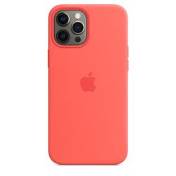 Custodia MagSafe in silicone per iPhone 12 Pro Max