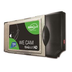 DIGIQUEST - WE CAM HD + SMARTCARD  tivùsat