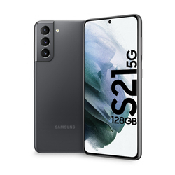 "Samsung - Galaxy S21 5G 6.2"" 128 GB Phantom Gray SM-G991BZAD"
