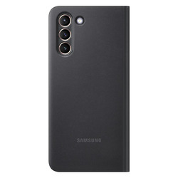 SMART CLEAR VIEW COVER BLACK GALAXY S21