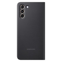 SMART CLEAR VIEW COVER BLACK GALAXY S21+