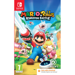 Ubisoft - MARIO + RABBIDS KINGDOM BATTLE CODE IN BOX ITA SWI