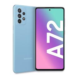 """Samsung - Galaxy A72 4G 6.7"""" 128 GB Awesome Blue SM-A725FZBD"""
