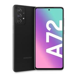 """Samsung - Galaxy A72 4G 6.7"""" 128 GB Awesome Black SM-A725FZKD"""