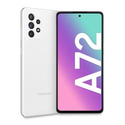 """Samsung - Galaxy A72 4G 6.7"""" 128 GB Awesome White SM-A725FZWD"""