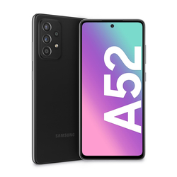 """Samsung - Galaxy A52 4G 6.5"""" 128 GB Awesome Black SM-A525FZKG"""