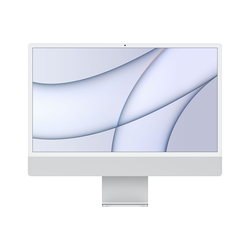 "Apple - iMac 24"" M1256GB con display Retina 4.5K - Silver MGTF3T/A"