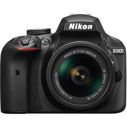 Nikon - D3400 + 18-55MM VR nero