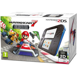 Nintendo - 2DS + MARIO KART 7 2205049