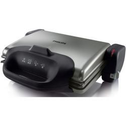 Philips - HEALTH GRILL HD4467/90 grigio-nero