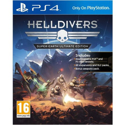 Sony - PS4 HELLDIVERS SUPER EARTH 9816843