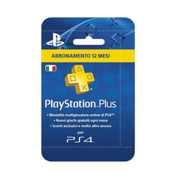 Sony - SONY PSN PS PLUS HANGING CARD 12 MESI
