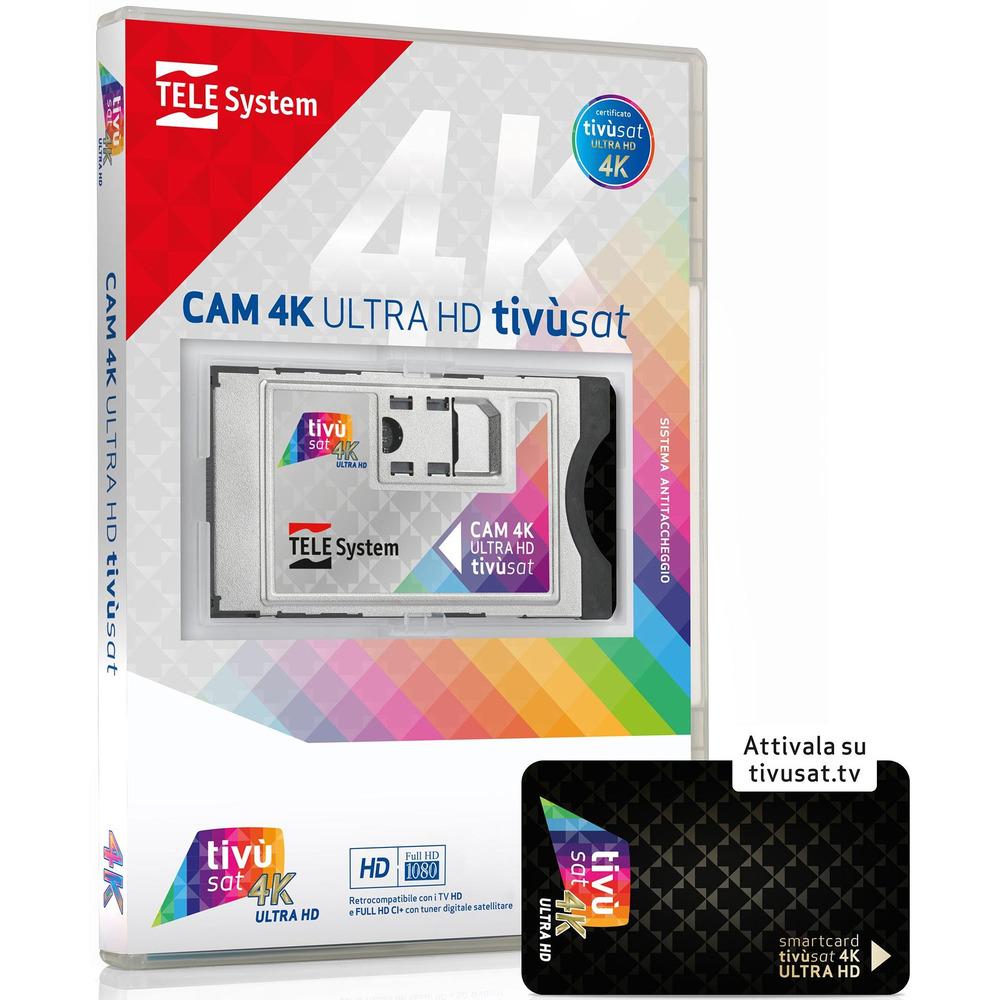 CAM 4K TIVU'SAT 58040115