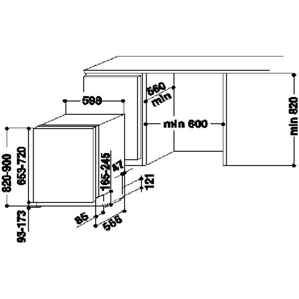 Hotpoint Ariston Lavastoviglie HRIO 3C23 W F - Expert official shop ...