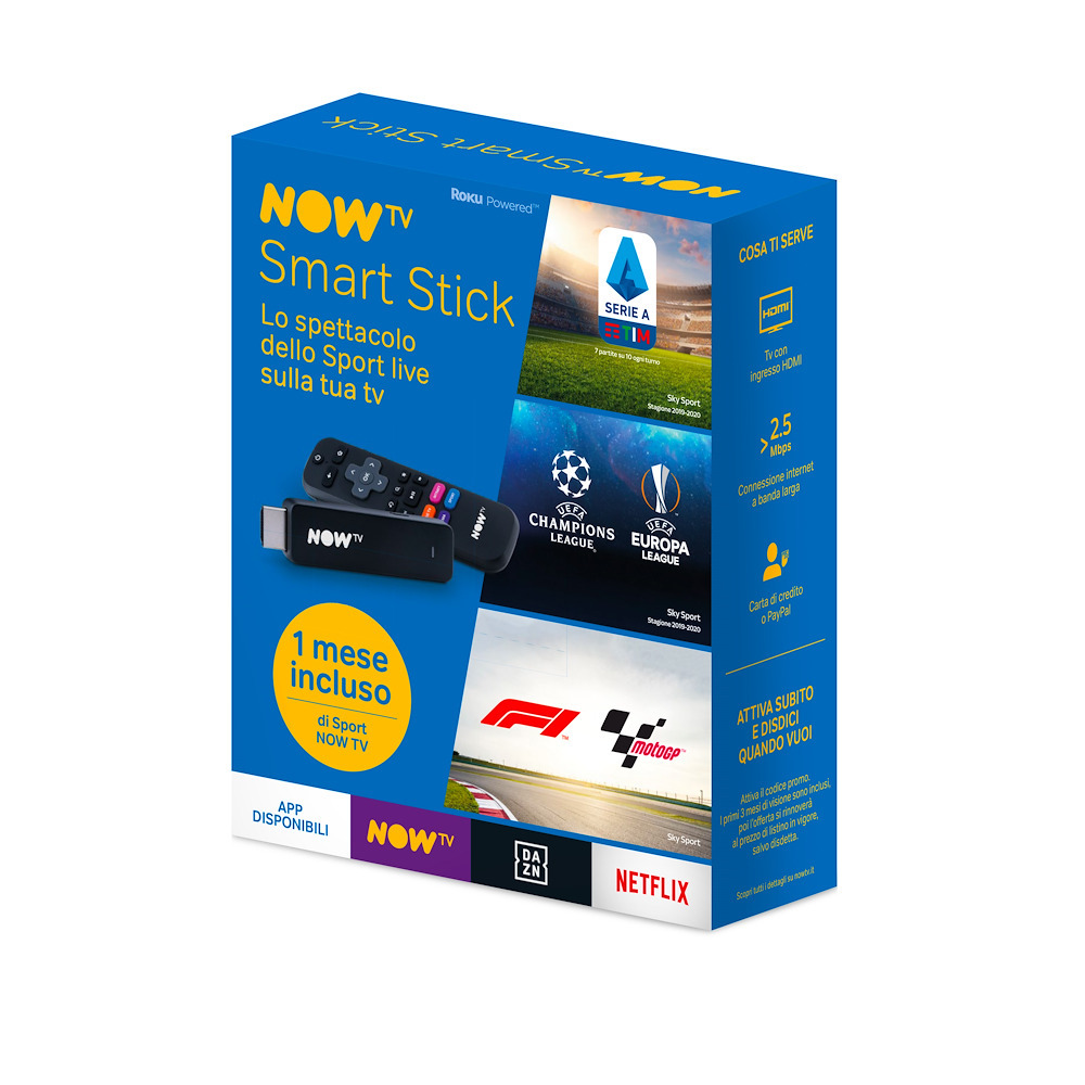 NOW TV Smart Stick 1 mese