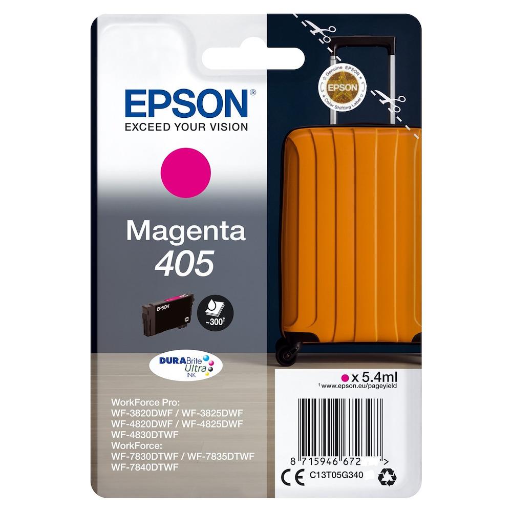 EPSON INCHIOSTRO  SERIE VALIGIA 405 STD MAGENTA