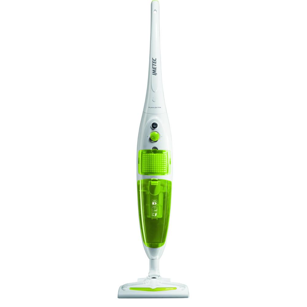 Scopa Elettrica Expert.Imetec Piuma Extra 8721 Bianco Verde