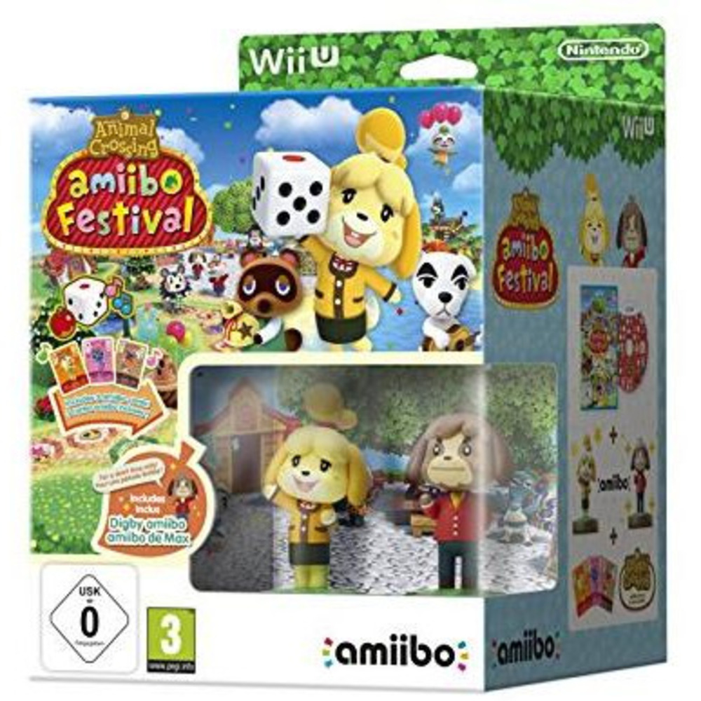 WII U ANIMAL CROSSING AMIIBO FESTIVAL 2326449