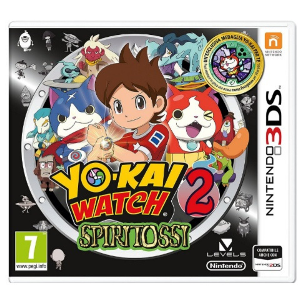 3DS YOKAI WATCH 2 SPIRITOSSI 2236349