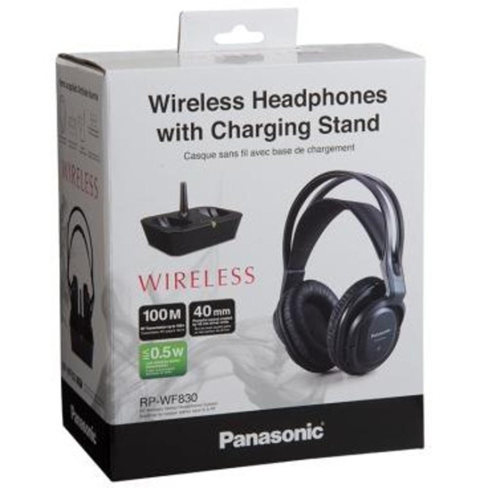 Panasonic Cuffie senza filo RP-WF830E-K - Expert official shop online ece560058ed9